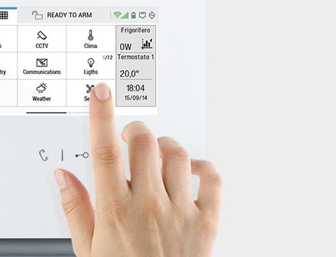 icona comelit user interface