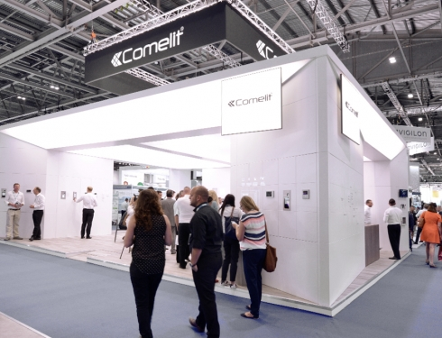 booth comelit 2017